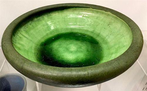 Grueby American Art Pottery low bowl
