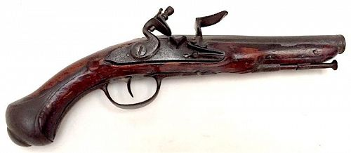 Revolutionary War era Light Dragoon flintlock pistol