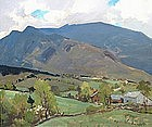Charles Curtis Allen painting of Mt. Mansfield, Vermont