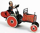 Louis Marx Coo Coo Car lithographed tin wind-up toy