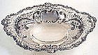 Gorham sterling silver large dessert center basket 1893