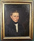 Vermont portrait of artist's brother by Stephen Everett