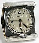 Tiffany & Co. sterling silver travel alarm clock