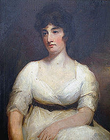 Scottish portrait after Sir Henry Raeburn, Lady Suttie