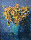 Samuel George Phillips still life painting of flowers