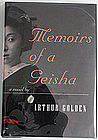 Memoirs of a Geisha, Arthur Golden, signed 1st edition