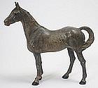 Hubley cast iron horse doorstop, #345, c.1930s.