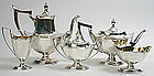 Gorham Plymouth sterling silver tea and coffee service