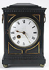 English Regency antique bracket clock, Camberwell
