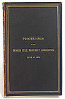 Ulysses S. Grant presentation copy of Bunker Hill book