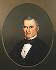 Horace Bundy portrait painting of Adventist preacher