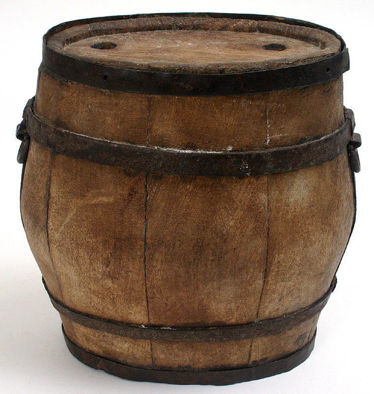 Revolutionary War canteen, military style, 18th century