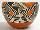Lucy Martin Lewis Acoma Pueblo pottery bowl or olla