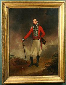 Portrait of British officer Benjamin Everard, c.1813