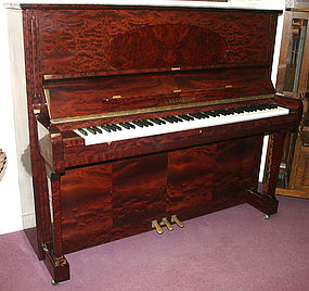 C. Bechstein Concert 8 upright piano in rosewood