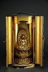 Small Buddhist Altar, Japan, 19th C.