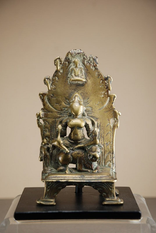 Small Green Tara Altar, India, 16th C.