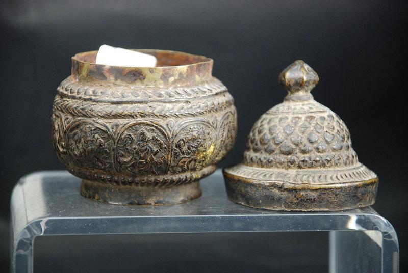 Rare Hindu Box, Nepal, 17th C.