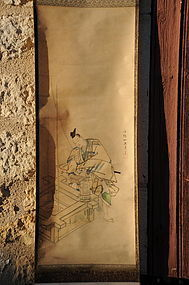 Scroll painting, Japan, 19th C.