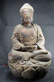 Statue of Buddha Amithaba, China, 18th C.