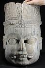 Ancient Bhairava Mask, Nepal, 17th C.