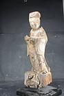 Statue of a Taoist Deity, China, Ming Dynasty