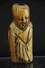 Ivory Statue of An Immortal, China, Ming Dyn.