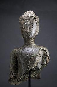 Bust of Buddha, Thailand, Ayutthaya Period