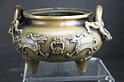 Bronze Censer, China, 19th C.