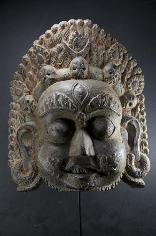 Head of Bhairava, Nepal, 19th C.