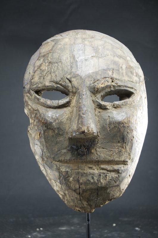 Antique Shamanic Mask, Nepal, 19th C.