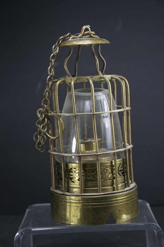Opium Lamp, China, 19th C.