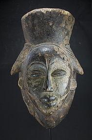 Black Feminine Mask, Punu Peoples