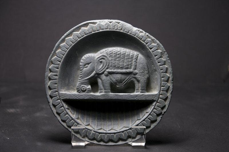 Cosmetic Plate, Gandhara, Ca. 3rd C.