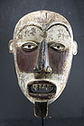 Three Color Mask, Bakongo Peoples