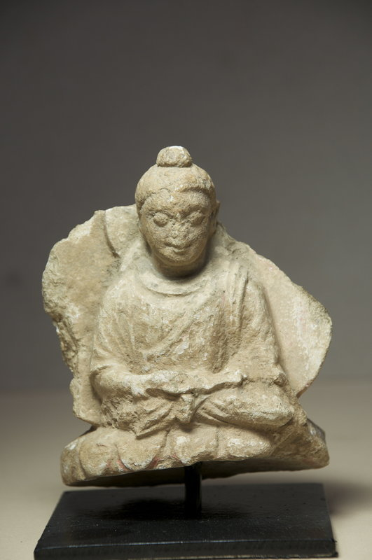 Small Buddha Statue, Gandhara Ca. 3rd C.