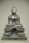Statue of Buddha, Laos, Early 18th C.