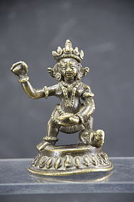 Small Statue of Bhairava, Tibet, Early 19th C.