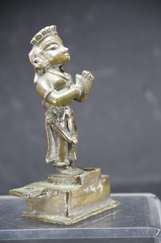 Statue of Hindu Worshipper