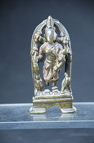 Small Jain Statue of Ambika, India, 16th C.