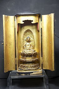 Small Buddhist Altar, Japan, 19th C.
