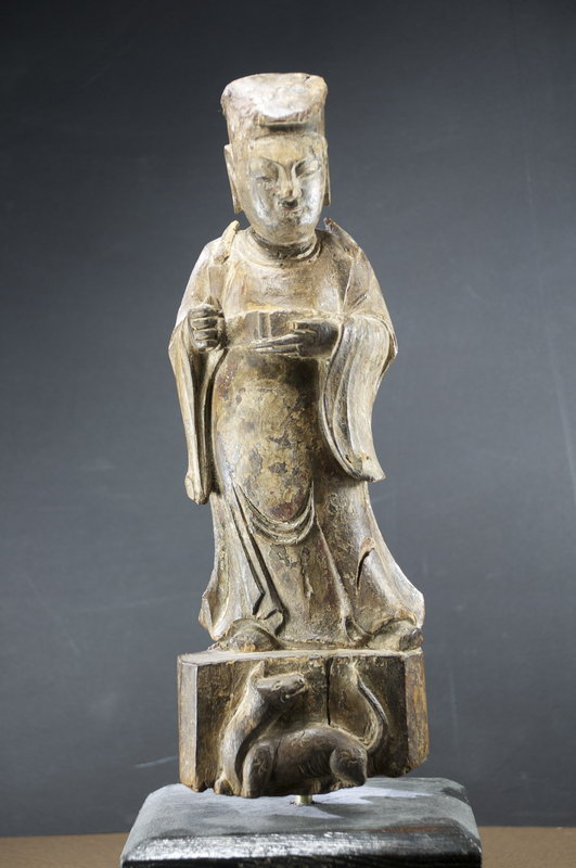 Statue of a Dignitary, China, Ming Dynasty