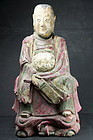 Statue of Xuan Wu, Emperor of the North, China, 19th C.
