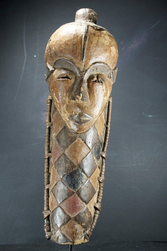 Important Mask, Pende Ethnic Group