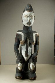 Important Feminine Figure, Idoma Peoples