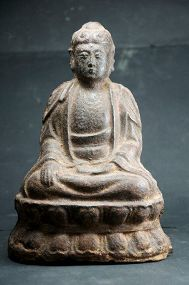 Statue of Buddha Sakyamuni, China, Yuan Dynasty