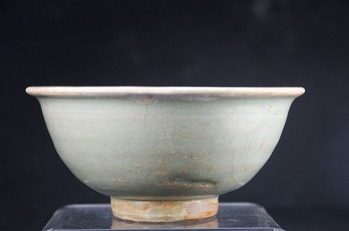 Celadon Ceramic Bowl, China, Qing Dynasty