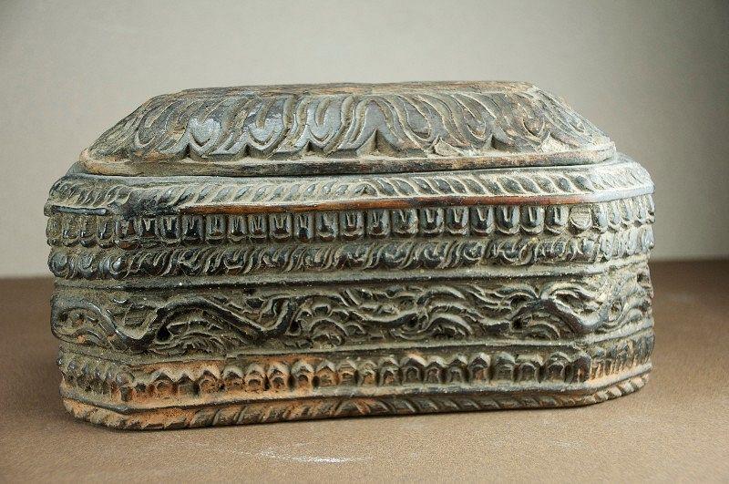 Rare Salt Box, Nepal, 19th C.