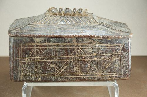 Fine Salt Box, Nepal, 19th C.