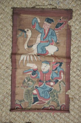 Taoist Painting, China, mid 19th C.